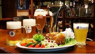 Новый адрес на Абельмановской! Всего от 100 руб за скидку 50% на все меню и барную карту в ресторане «БирХаус»!
