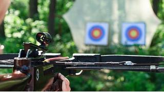 Стрельба в тире по купону! Обучение стрельбе из пневматического оружия, лука, арбалета или метанию ножей в клубе «Калибри»!