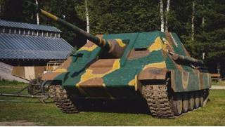 Катание на танке! 15, 30 или 60 минут катания на танке ПТ-САУ Jagdpanther для компании до 4 человек от ВПК «Резерв»!