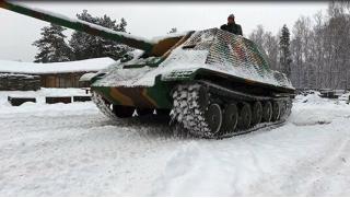 Не боятся грязи! 15, 30 или 60 минут катания на танке ПТ-САУ Jagdpanther для компании до 4 человек от ВПК «Резерв»!