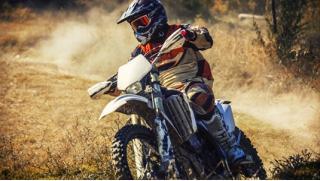 Катание на кроссовом мотоцикле или питбайке от компании «Веселуха» со скидкой до 72%! Вот это круть!