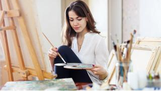 Мастер-классы в Школе рисования Art Class со скидкой 50%! Живопись маслом, Флюид арт, Фактурная живопись, или Интерьерная живопись!