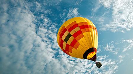Полет на воздушном шаре от клуба «Аэронавт» с 60% скидкой!